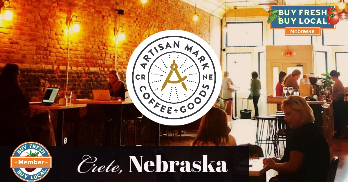 artisan Mark Coffee + Goods Crete Nebraska