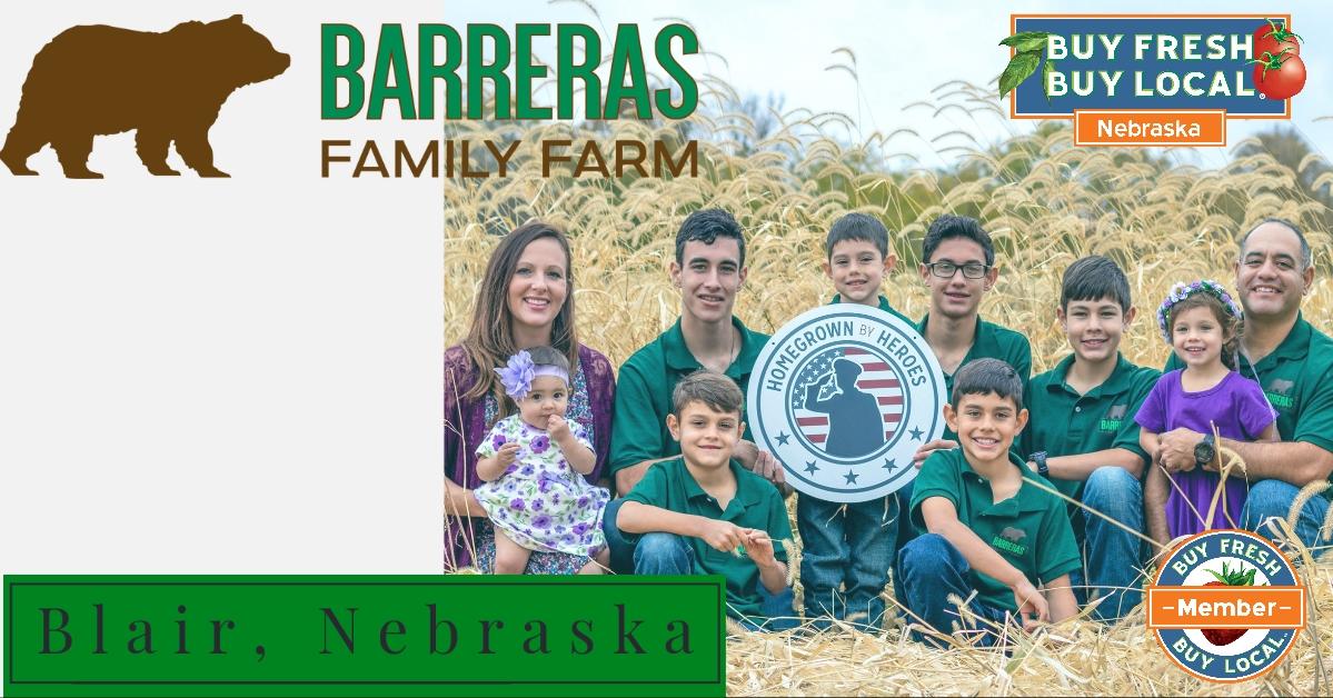 Barreras Family Farm Blair Nebraska