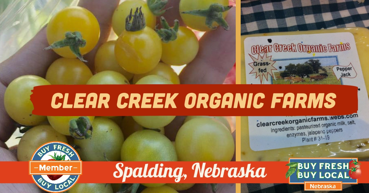Clear Creek Organic Farms Spalding Nebraska