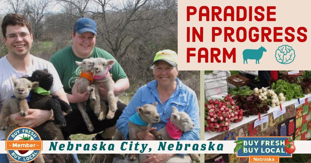 Paradise in Progress Farm Nebraska City Nebraska