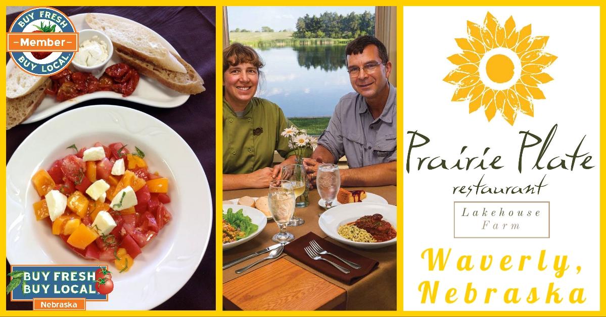 Prairie Plate Restaurant & Lakehouse Farm Waverly Nebraska