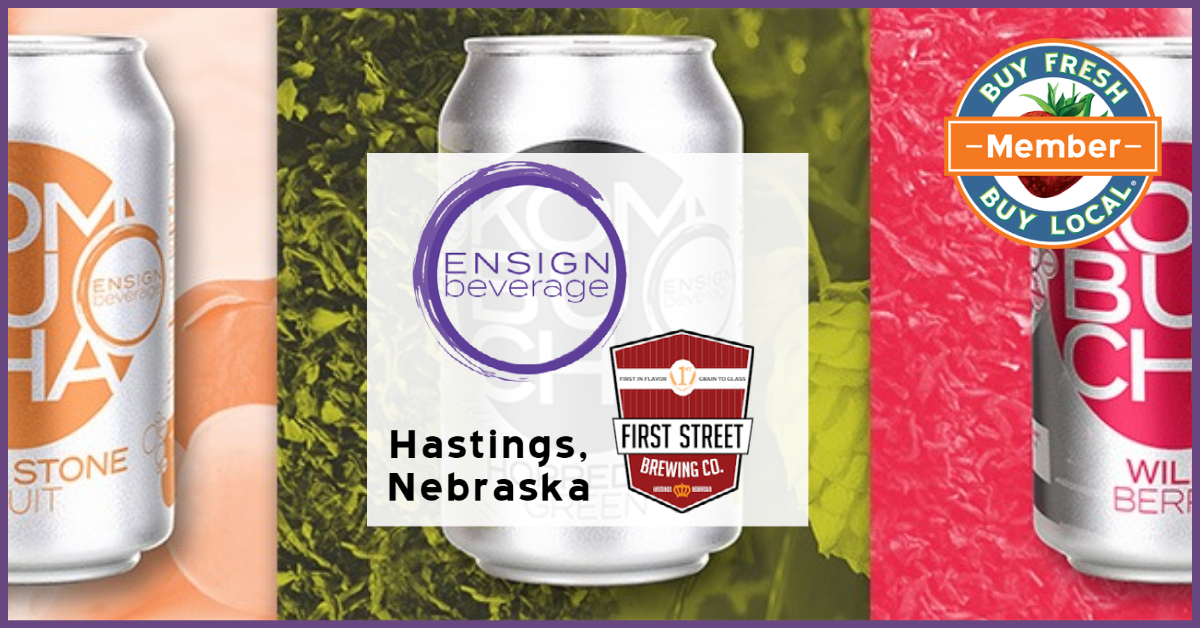 Ensign Beverage and First Street Brewing Company Hastings Nebraska