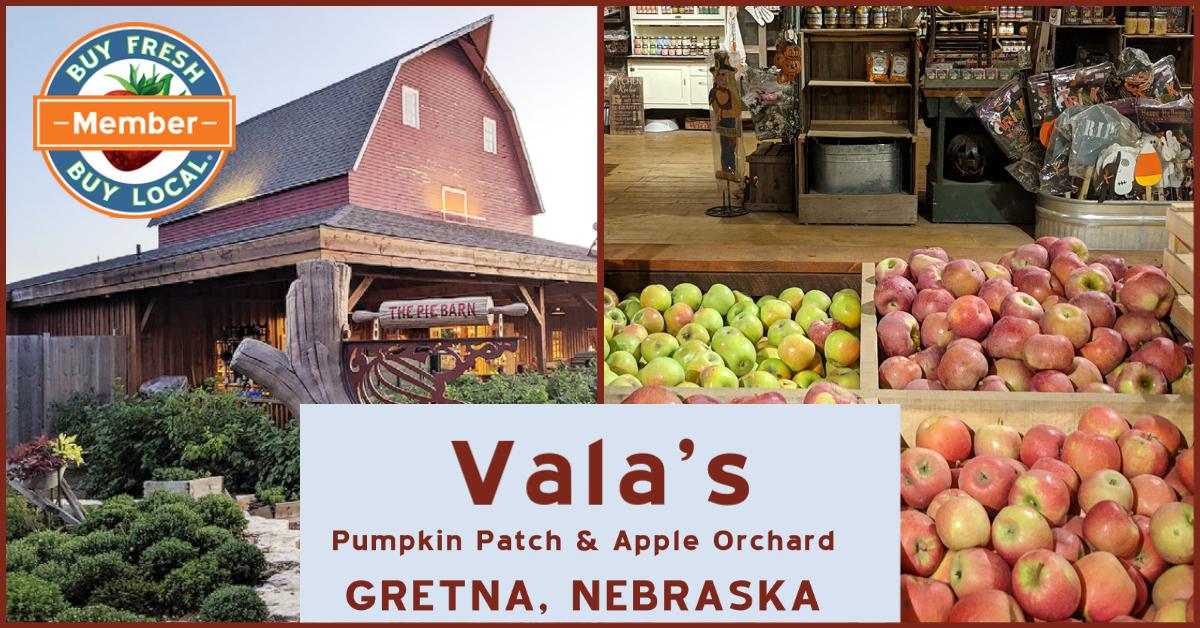 Vala's Pumpkin Patch and Apple Orchard Gretna Nebraska