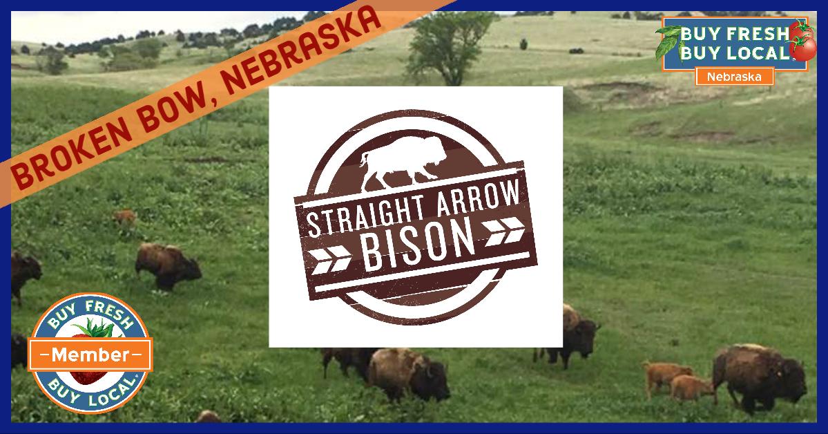 Straight Arrow Bison Broken Bow Nebraska